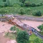 Rize'deki şiddetli yağışın ardından hasar tespit ve tahliye çalışmaları sürüyor