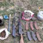 Van Başkale'de silah ve mühimmat ele geçirildi