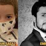 Bakan Koca paylaştı: Babasını fotoğraflarından tanıyor