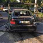 Ankara'da 2 otomobil çarpıştı: 4 yaralı