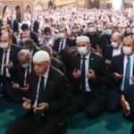 Ayasofya'nın cami olarak ibadete açılması coşkuyla karşılandı