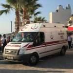Aydın Kuşadası'nda bir kişi boğularak hayatını kaybetti