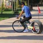 Bu bisikleti görenler dönüp bir daha bakıyor