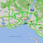 İstanbul'da harita yemyeşil! Bayram etkisini gösterdi