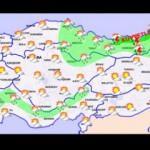 Meteoroloji'den dört bölgeye uyarı