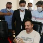 Bakanı Kasapoğlu'ndan eski itfaiye erini hayata bağlayacak hediye