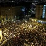 Binler meydanı doldurdu! Netanyahu'ya nefret büyüyor