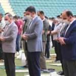 Çevre ve Şehircilik Bakanı Kurum vatandaşlarla bayramlaştı
