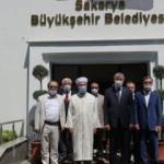 Diyanet İşleri Başkanı Erbaş, Sakarya Büyükşehir Belediye Başkanı Yüce'yi ziyaret etti