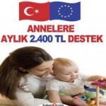 Annelere aylık 2.400 TL bakıcı desteği! Nasıl başvuru yapılır?