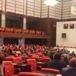 HDP'li vekillerden TBMM'de skandal harekete! 'Taciz'den bahsedince...