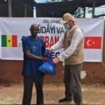 Hüdayi Vakfından Senegal'de 4 bin aileye kurban yardımı