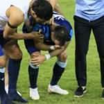 Penaltıyı kaçırdı, gözyaşlarını tutamadı