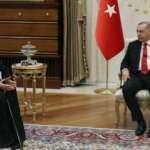 Rum Patriği Bartholomeos'tan Erdoğan'a teşekkür