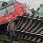 Rusya'da iki tren çarpıştı