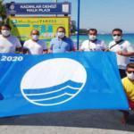 Turizm cenneti Kuşadası'nda 6 plaja 'Mavi Bayrak'