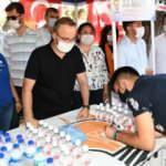 Bülent Turan, Çanakkale'de 'üyelik' kampanyası başlattı