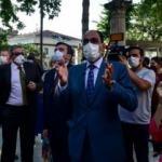 Cumhurbaşkanlığı Sözcüsü Kalın, Ayasofya Camii'ni ziyaret etti