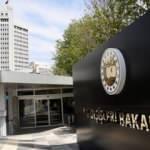 Dışişleri Bakanlığı'ndan Yunanistan ve Mısır'a tepki