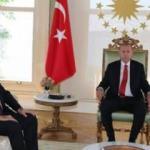 Erdoğan, KKTC Başbakanı'nı İstanbul'da kabul etti