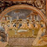 Kayadan oyma kilise freskleriyle tarihte yolculuğa çıkarıyor