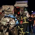 Kocaeli'de zincirleme kaza: 1 ölü 2 yaralı