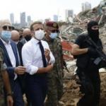 Macron'dan  'Türkiye imalı' Lübnan açıklaması