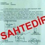 Rize Valiliğinden sahte belgeye suç duyurusu
