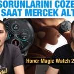 Şarjı bitmeyen akıllı saat: Honor Magic Watch 2