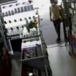 Telefon hırsızları kameralara yansıdı