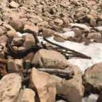 Bitlis'te 1959 yılında düşen İngiliz uçağının parçaları bulundu