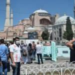 Ayasofya Camii'ne akın devam ediyor