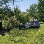 Çekya'da sivil helikopter düştü: 1 yaralı