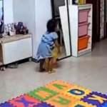 Çinli 'süper baba' kızını ölümden böyle kurtardı