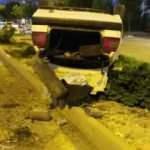 Elazığ'da otomobil takla attı: 2 yaralı