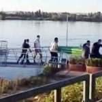 Fırat Nehri'ne düşen kızını kurtarmaya çalışırken boğuldu