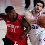 Furkan Korkmazlı 76ers'tan Rockets'a 38 sayı fark