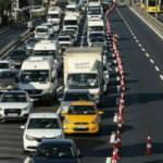 Haftanın ilk iş günü Haliç Köprüsü'ndeki çalışma trafiği kilitledi