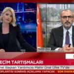 Mahir Ünal AK Parti'nin son anketlerdeki oy oranını açıkladı