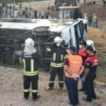 Muğla'da işçi servisi devrildi: 2 ölü, 15 yaralı