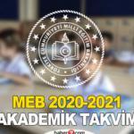 Okullar ne zaman açılacak?   MEB Akademik Takvim
