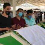 Ölümü Türkiye'yi yasa boğan Duygu'nun cenazesi toprağa verildi