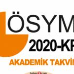 KPSS 2020 başvuru tarihi ne zaman? ÖSYM akademik takvimi açıklandı!