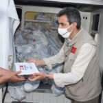 Sadakataşı'ndan Lübnan'da 50 bin kişiye acil yardım