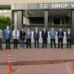 AK Parti milletvekili Nazım Maviş gazetecileri Sinop'ta ağırladı
