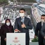 Bakan Kurum, Kentsel Dönüşüm Projesi temelini attı