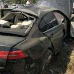 Bakan Kurum'un korumaları kaza yaptı