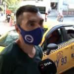 Ambulansın önünü kesen taksi şoförü, yolcusunun hayatını kurtardı