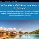 İngiliz The Times gazetesi Türkiye'ye övgüler yağdırdı