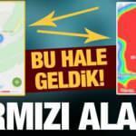 İstanbul ve Ankara'da korkunç tablo! Haritalar ilk kez bu kadar fark etti